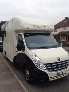 Brand new luxury Alexanders Royal Ascot 3.5t - Self drive hire and Transport with qualified driver, Kent http://www.equineclassifieds.co.uk/Horse/self-drive-hire-and-transport-with-qualified-driver-kent-listing-927.aspx#.U9jkL0ATCZY