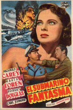 "El submarino fantasma (1950) ""Mystery Submarine"" de Douglas Sirk - tt0042772"