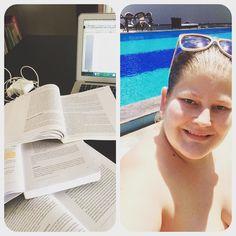 Att skriva hemtenta blir så mycket roligare när det går att bada en stund i pauserna! by moeller