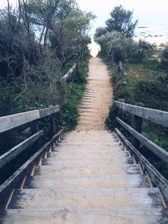 #beach #sand #summer #stairs