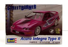 This plastic model kit of theAcura Integra Type R is made by Revell…