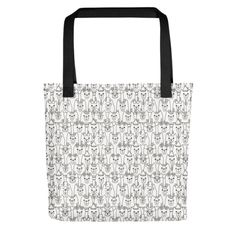 Bring your favorite design everywhere you go. Print Patterns, Reusable Tote Bags, Kitty, Fabric, Shopping, Little Kitty, Tejido, Tela, Kitty Cats
