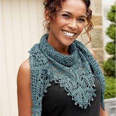 Crochet Cotton Shawl