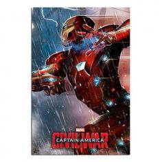 Captain America Civil War Iron Man Poster