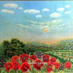 Begüm Gelincikleri|Tuval Yağlı Boya|Özel Koleksiyon 30x40-2001 .http://www.facebook.com/pages/Şebnem-Çamdalı/516996284987509?fref=ts  http://sebnemcamdali1.blogspot.com/