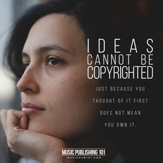 5 Things That Can't Be Copyrighted – Music Publishing 101 Copyright Music, Music Publishing, Thinking Of You, Poems, Thoughts, Canning, Feelings, Thinking About You, Poetry
