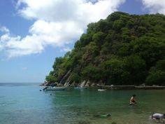 La plage du pain de sucre, aux saintes. Guadeloupe