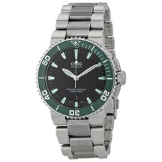 Oris Aquis Date Automatic Grey Dial Stainless Steel Men's Watch 733-7653-4137MB