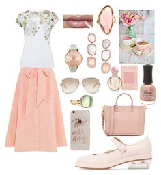 """""""Sunday Tea in the Park"""" by kpoulin1217 on Polyvore featuring Lisa Marie Fernandez, Ted Baker, Olivia Burton, Pomellato, Sonix, Charlotte Russe, Chloé, Bulgari, Roberto Coin and Mark Broumand"""