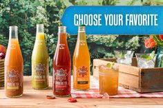 We are so excited about the launch of our new sparkling teas! Flavors include, Mint Mate, Tart Cherry Rooibos, Lemon Ginger Black Tea and Mango Lime Mate! What's your flavor?