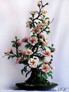 Creative Floral Compositions by Oksana Konovalova | Beads Magic