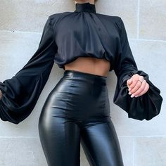 High Fashion Outfits, Mode Outfits, Look Fashion, Casual Outfits, Black Outfits, Fall Outfits, Club Outfits, 50 Fashion, Fashion Black
