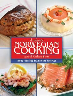 Book Cover Authentic Norwegian Cooking