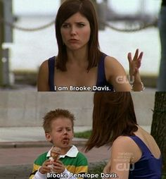 One tree hill. YES! i love this part!!