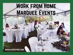 Do you have a massive yard that you are not using to it's full potential? What if i tell you that you can make a big amount of money every weekend with your yard? Party In A Box, I Party, Bold Words, Marquee Events, Work From Home Moms, Money From Home, You Are Awesome, Tents, Extra Money