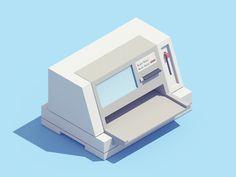 """坂井直樹の""""デザインの深読み"""": 1990年代の象徴的な電子機器への敬意を払った、もはや懐かしい動作に見えるGIFアニメ。"""