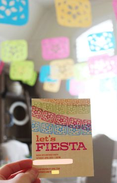 Fiesta Party on the Tiny Prints Blog today #party #partydecor