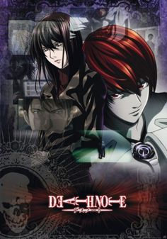 Death Note poster Light and Misora http://www.abystyle-studio.com/en/death-note-posters/206-death-note-poster-light-and-misora.html