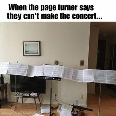 page turner meme humor 15 memes you'll only understand if you're in the hell of practising your instrument Funny Band Memes, Music Memes Funny, Music Puns, Marching Band Memes, Band Jokes, Flute Jokes, Clarinet Humor, Trombone, Saxophone
