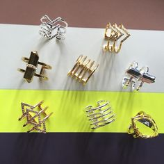 A few of our favorite rings. #jotd Shop rings through link above.