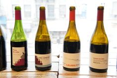 Wines from Ribeira Sacra in NW Spain, by Dominio Do Bibei and D. Ventura. Love local red grapes Mencia and Brancellao.