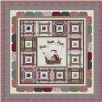 Santa's Sleigh Quilt Pattern Download quilt patterns, quilting patterns, quilt pattern