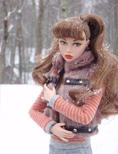Poppy Parker - Fashion Royalty CIpopSno227 by Lisa/Alex's doll, via Flickr
