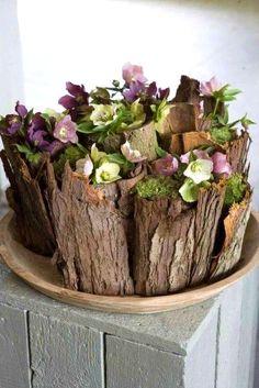 Floral art.