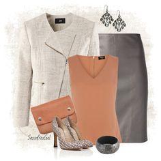 """""""JOSEPH 'Brent' skirt"""" by sassafrasgal on Polyvore"""