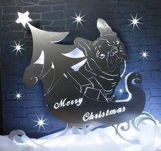 Bully Christmas #Frenchie 'Filou Design#Bulldoggen