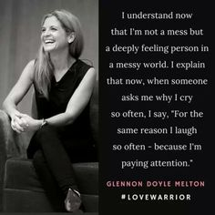 Via Glennon Doyle Melton Great Quotes, Quotes To Live By, Inspirational Quotes, Fabulous Quotes, Awesome Quotes, Daily Quotes, Motivational Quotes, Infp, Love Warriors