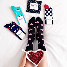 Hearty mornings.  @hellyes_pl #HappySocks #HappinessEverywhere