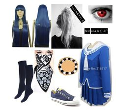"""""""Tori Sohma (read the description)"""" by lina-dunn ❤ liked on Polyvore featuring REBEL8 and Converse"""