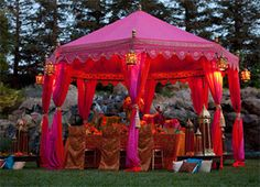 party moroccan Tent