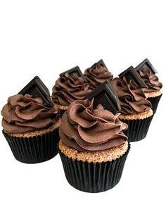 čokoládové - My site Brownie Cupcakes, Vintage Japanese, Muffins, Cheesecake, Food And Drink, Sweets, Cookies, Easy, Desserts