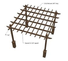 Ana White's Pergola Plan- and many other cool projects