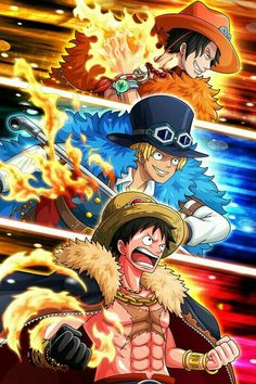 """One Piece: Destiny of the """"D"""" Every 20 Years, Luffy's Turn? Ace One Piece, One Piece Figure, One Piece Manga, One Piece Crew, One Piece Drawing, Zoro One Piece, One Piece Fanart, One Piece Cosplay, One Piece Pictures"""