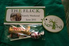Family Reunion Goodie Bags
