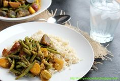 Green Bean & Potato Curry [Curry and Comfort]