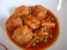 ALBONDIGAS DE MI MADRE (Cocina fácil)