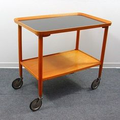 Mid-Century German Bar Cart from Opal Möbel - Decorative Collective