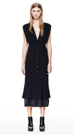 THEORY Didier Dress in Fabby