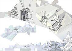 what happen when you unbuild (deconstruction) different architectural elements! cool! (by Javier Cardiel)