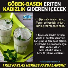 Göbek basen eriten, kabızlık gideren içecek! #bitkiselkürker #sağlıkhaberleri #göbekeritme