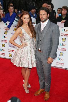 Pin for Later: See All the Celebrities at the Pride of Britain Awards Una Healy and Ben Foden