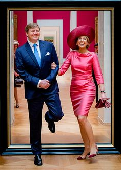 Willem Alexander en Maxima Picture Perfect in Munchen