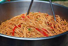 Souffle Bombay: Sesame Noodles