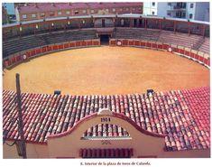 Plaza de toros de Calanda Teruel España.