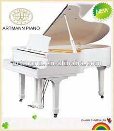 #Baby mini piano, #White grand piano, #Baby musical piano