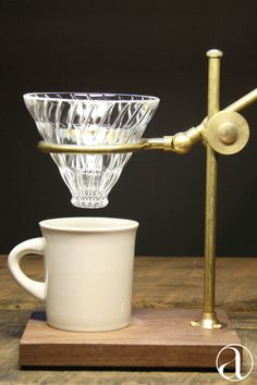 Victorian-style, single #pourover coffee set. Crafted with the best combination of design and function in mind. Shop now.